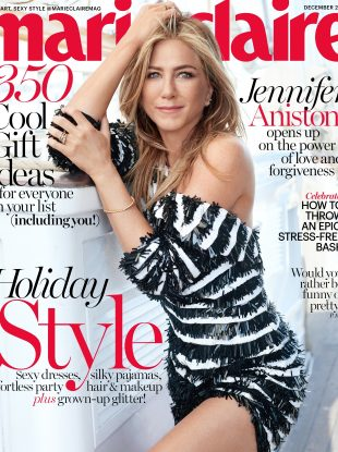 US Marie Claire December 2016 : Jennifer Aniston by Michelangelo di Battista