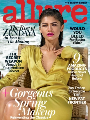 Allure January 2017 : Zendaya by Jason Kibbler