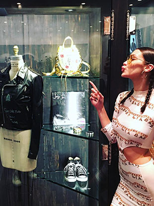 Bella Hadid is launching a capsule collection with Los Angeles-based label Chrome Hearts.