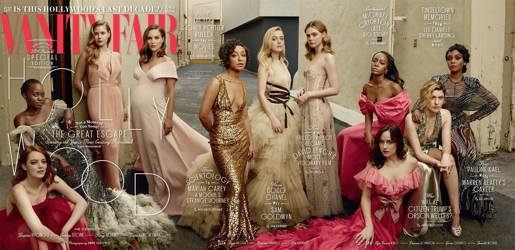 Vanity Fair cover March 2017 The Hollywood issue