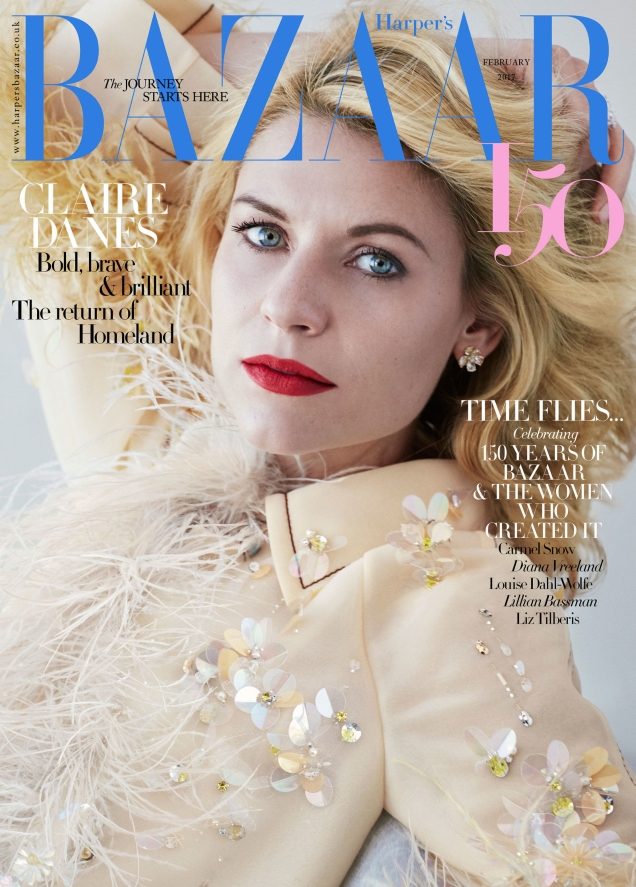 UK Harper's Bazaar February 2017 : Claire Danes by Alexi Lubomirski