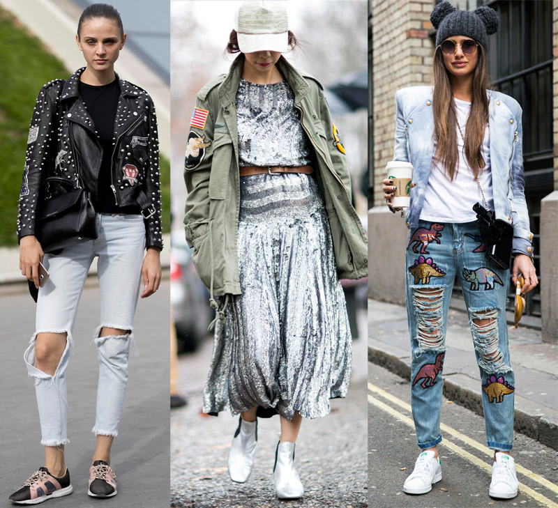 street style pins and patches