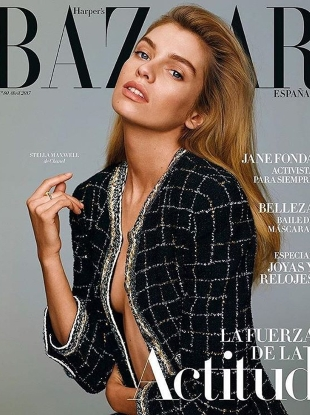 Harper's Bazaar España April 2017 : Stella Maxwell by Thomas Whiteside