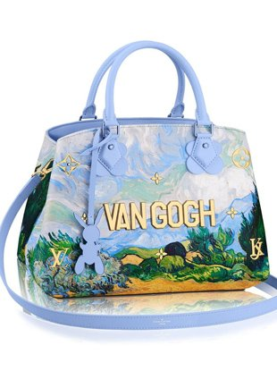 One of 51 pieces in the Louis Vuitton x Jeff Koons Masters collection.