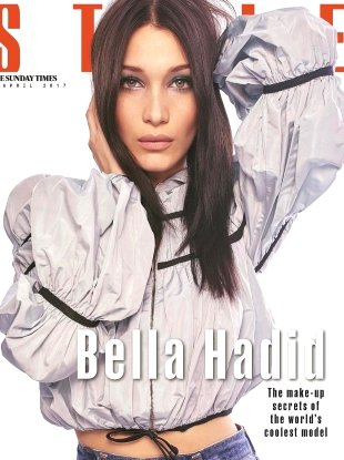 The Sunday Times Style 2 April 2017 : Bella Hadid by Jem Mitchell
