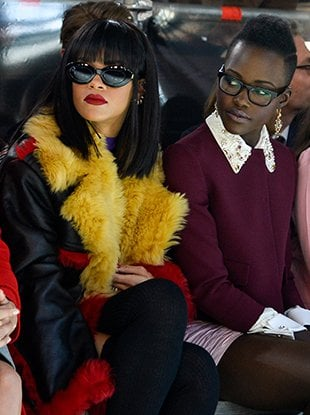 Rihanna and Lupita Nyong'o are starring in a buddy comedy based on a tweet.