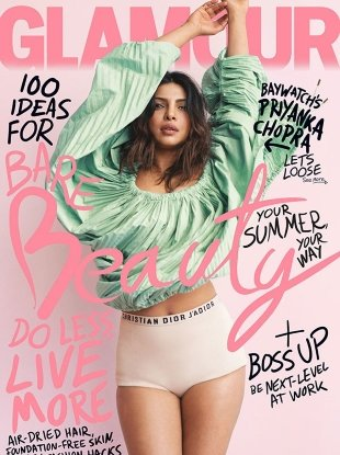 US Glamour June 2017 : Priyanka Chopra by Sebastian Kim