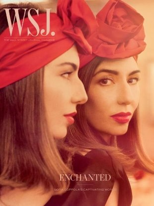 WSJ Magazine June/July 2017 : Sofia Coppola by Steven Meisel