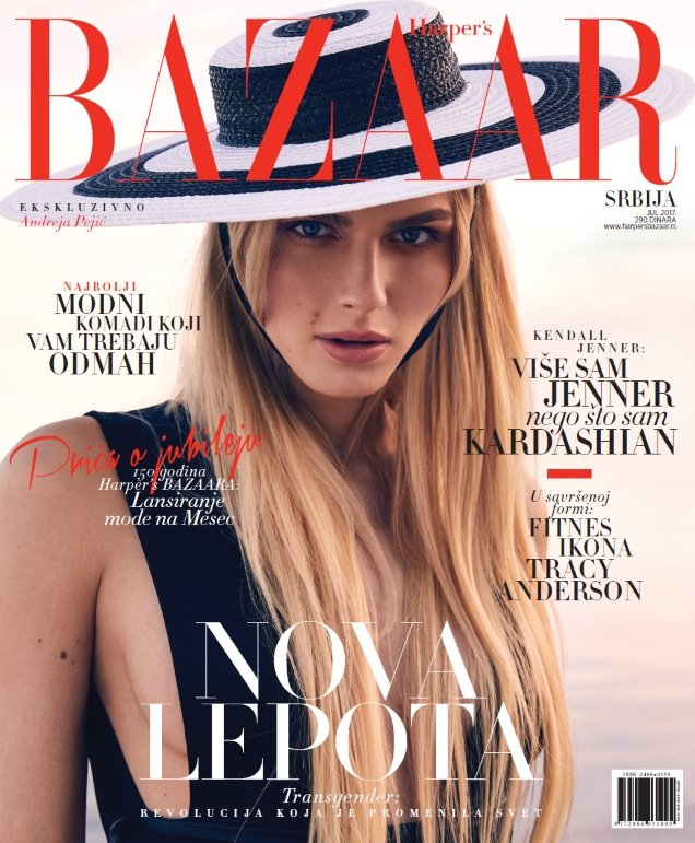 Transgender Model Andreja Pejic Fronts Not One BUT Two Magazine Covers This Month