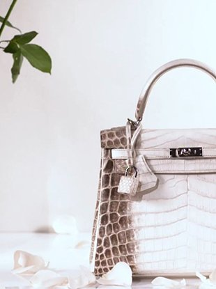 Matte white Himalaya Birkins are now the most coveted bags in the world.