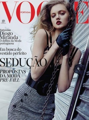 Vogue Portugal July 2017 : Lindsey Wixson by An Le
