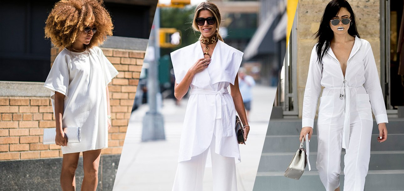 All-White Clothes: Hot Ways to Style White Outfits - theFashionSpot