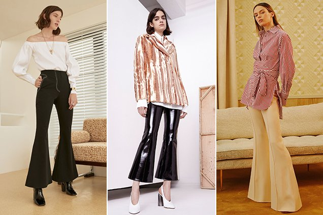 From left: Beaufille Resort 2018, Ellery Resort 2018, Khaite Resort 2018