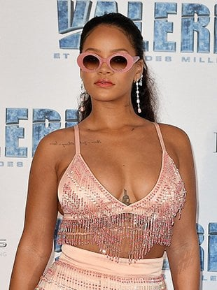 Rihanna at the Paris premiere of 'Valerian and the City of a Thousand Planets.'
