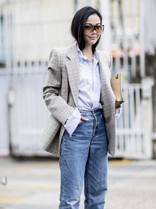 Designer, influencer and Kendall Jenner-approved tips for styling mom jeans.