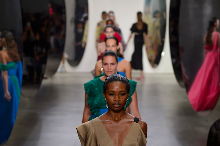 Diversity on the Prabal Gurung Spring 2018 runway