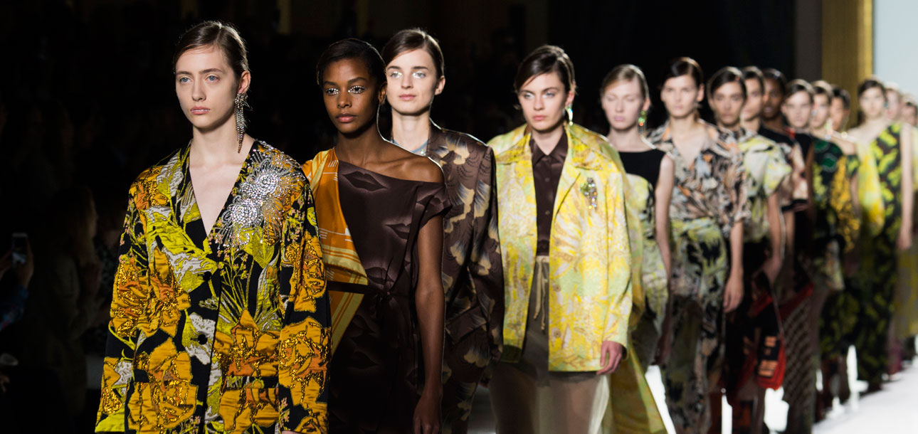 Dries Van Noten Runway Spring 2018