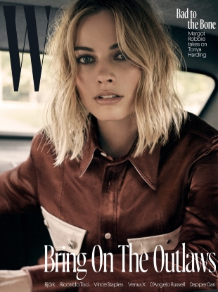 W Magazine November 2017 : Margot Robbie by Craig McDean