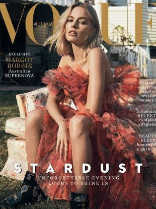 Vogue Australia December 2017 : Margot Robbie by Lachlan Bailey