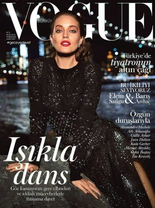 Vogue Turkey November 2017 : Emily Didonato by Miguel Reveriego