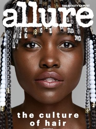 Allure March 2018 : Lupita Nyong'o by Patrick Demarchelier