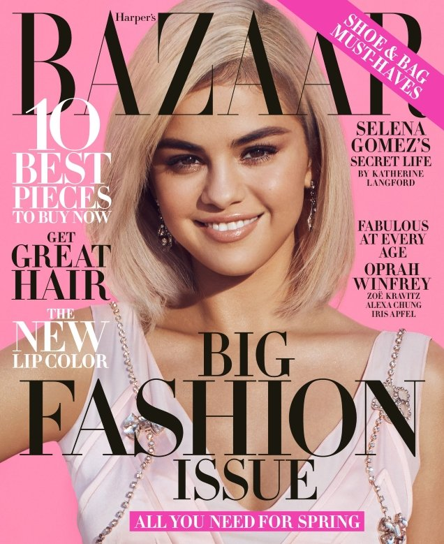 Selena Gomez Us Harper S Bazaar March 2018 Thefashionspot