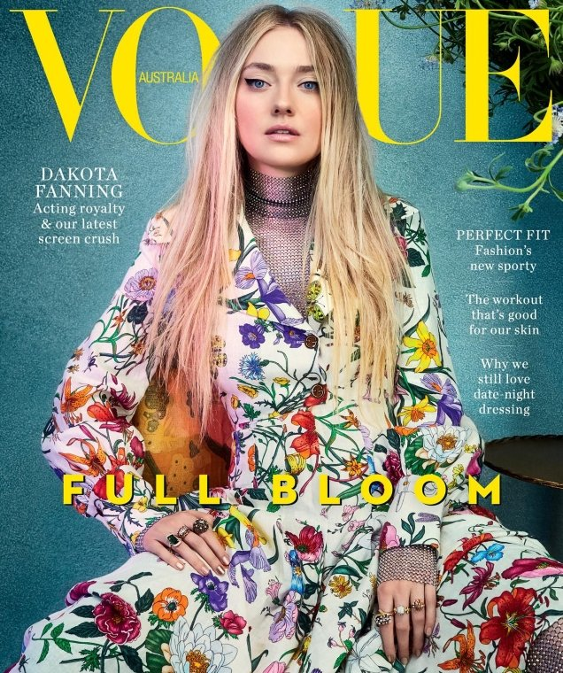 Vogue Australia February 2018 : Dakota Fanning by Emma Summerton