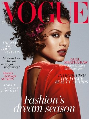 UK Vogue April 2018 : Gugu Mbatha-Raw by Mikael Jansson