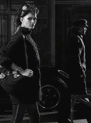 Chanel Pre-Fall 2018 : Anna Ewers by Karl Lagerfeld