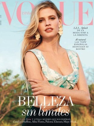 Vogue España May 2018 : Lara Stone by Bjorn Iooss