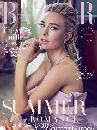 UK Harper's Bazaar June 2018 : Vanessa Kirby by Alexi Lubomirski