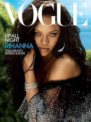 US Vogue June 2018 : Rihanna by Mert Alas & Marcus Piggott