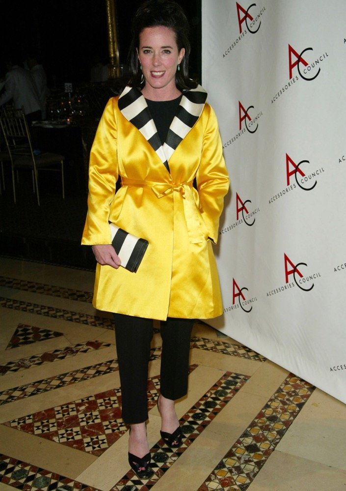 Kate Spade at the 2002 Ace Awards.