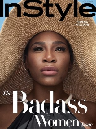 US InStyle August 2018 : Serena Williams by Robbie Fimmano