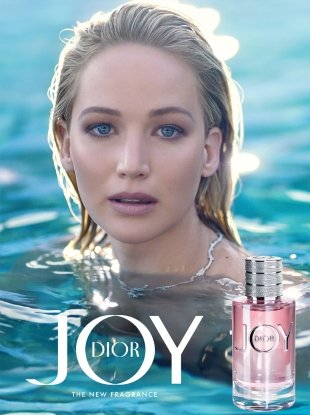 Christian Dior 'Joy by Dior' Fragrance 2018 : Jennifer Lawrence by Jean Baptiste Mondino