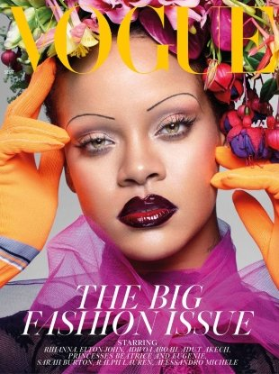UK Vogue September 2018 : Rihanna by Nick Knight