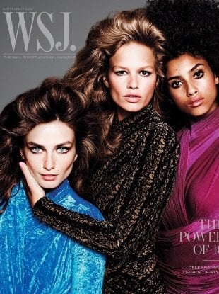 WSJ Magazine September 2018 : The Power of 10 by Inez van Lamsweerde & Vinoodh Matadin