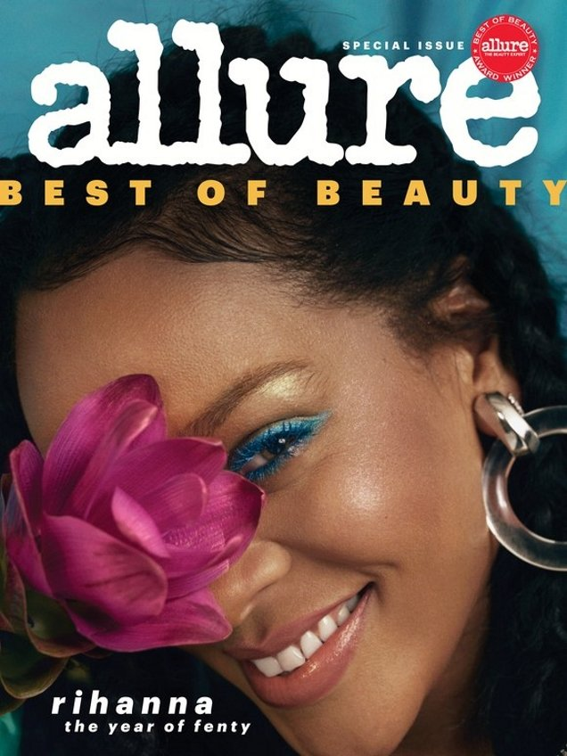 Allure October 2018 : Rihanna by Nadine Ijewere