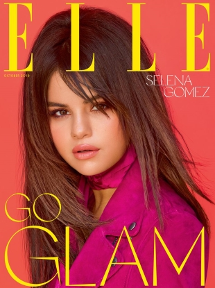 UK Elle October 2018 : Selena Gomez by Mariano Vivanco