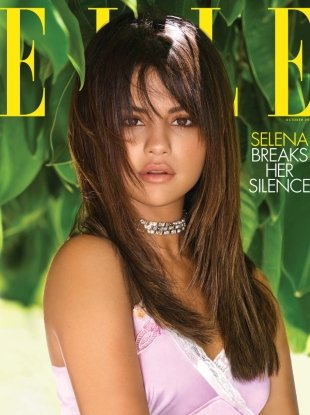 US Elle October 2018 : Selena Gomez by Mariano Vivanco
