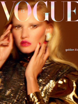 Vogue Czechoslovakia October 2018 : Lara Stone by Rankin