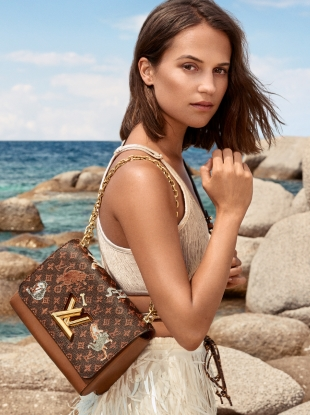 Louis Vuitton Cruise 2019 : Alicia Vikander by Craig McDean