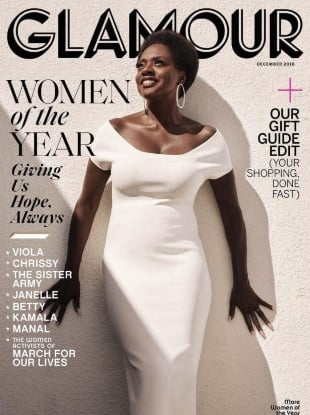 US Glamour December 2018 : The 'Women of the Year' Issue