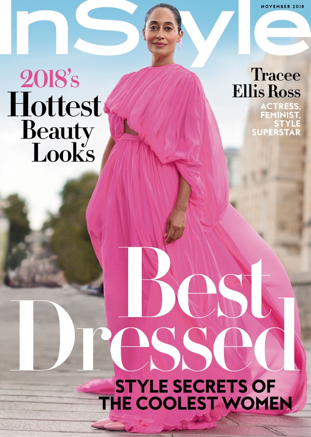 US InStyle November 2018 : Tracee Ellis Ross by Horst Diekgerdes