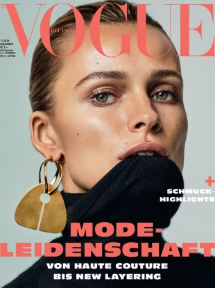 Vogue Germany November 2018 : Edita Vilkeviciute by Alique