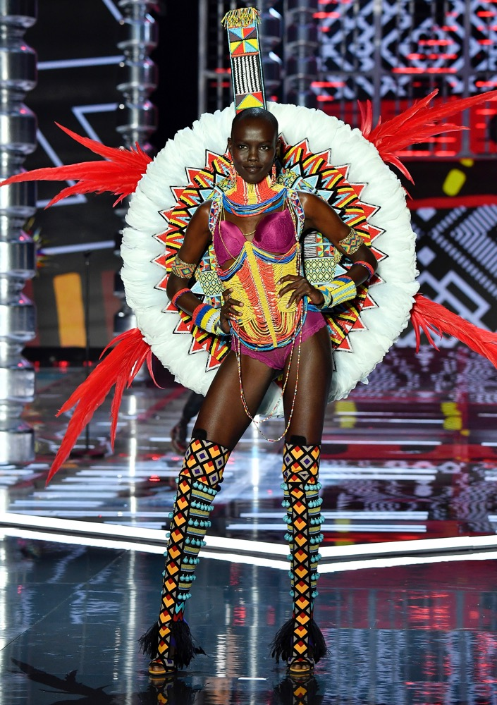 Grace Bol at the 2017 Victoria's Secret Fashion Show.