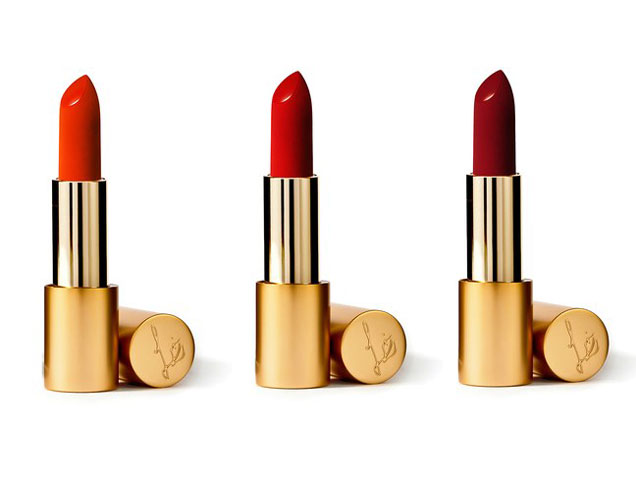 Lisa Eldridge's three lipsticks will be available November 19