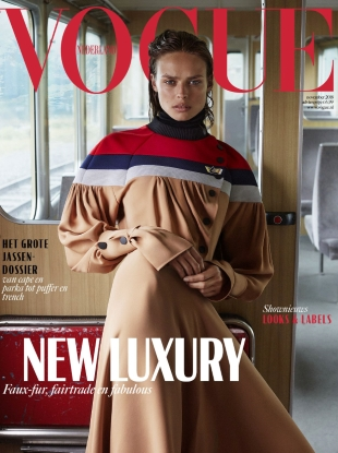 Vogue Netherlands November 2018 : Birgit Kos by Alique