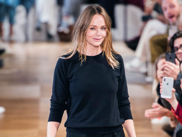 Stella McCartney in her Spring-Summer 2019 Fashion Show