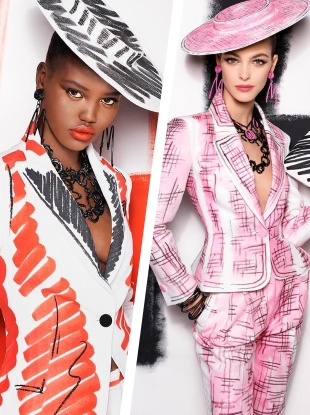 Moschino S/S 2019 by Steven Meisel
